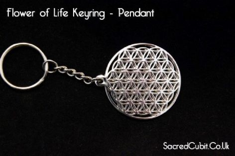 Flower of Life Keyring